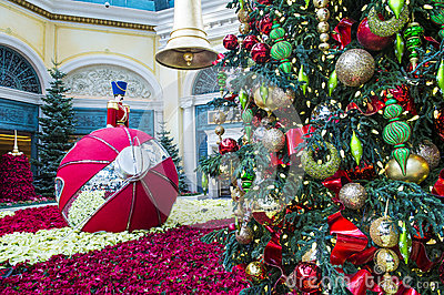 Bellagio Hotel Conservatory & Botanical Gardens Editorial Image