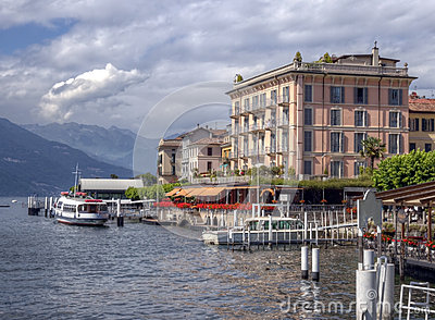 Bellagio lake view at Como Italy