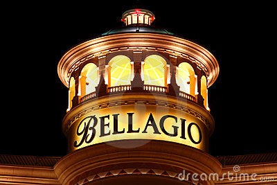Bellagio of Las Vegas Editorial Photography