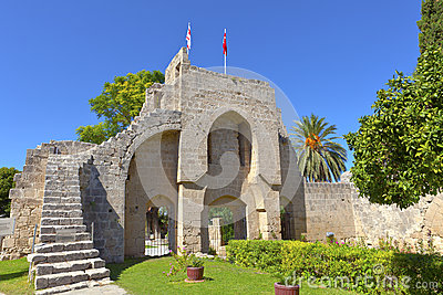 Bellapais Abbey in Kyrenia, Cyprus.