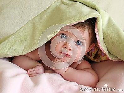 Belle chéri sous la couverture