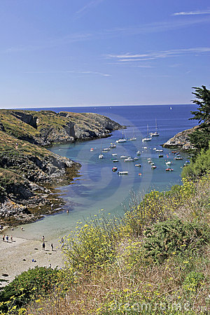 Belle-Ile, Port Goulphar, France