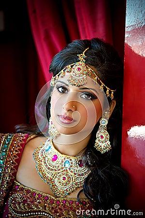 Belle mariée indienne
