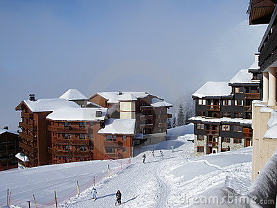 Belle Plagne ski resort