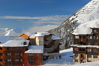 Belle Plagne ski resort