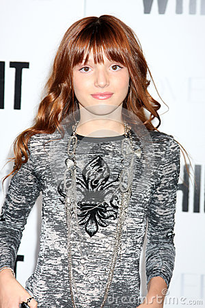 Belle Thorne arriving at the  Whip It  Premiere Editorial Photo