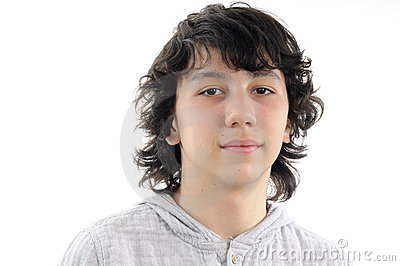 Belle verticale d adolescent