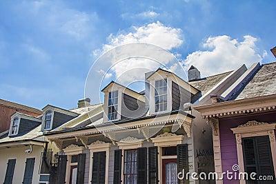 Belles Maisons Et Ciel Bleu Photo Stock Image 50315752