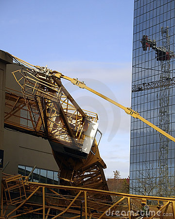 Bellevue Crane Disaster Editorial Image