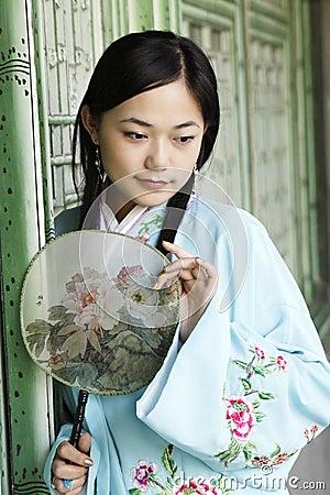 Belleza clásica en China.