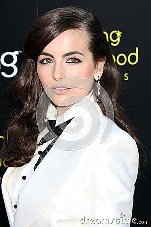 Belleza de Camila Imagen de archivo editorial