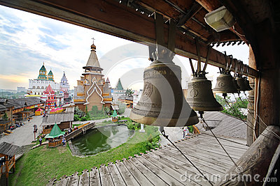 Bells in entertainment center Kremlin Editorial Photography