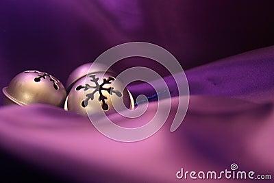 Bells on Purple
