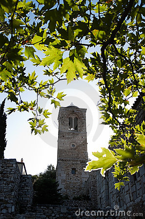 Free Belltower And Leaves Royalty Free Stock Photography - 11948947