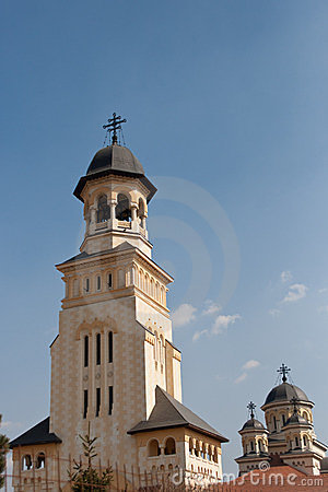 Belltower of the Archiepiscopal Churc in Alba Iulia