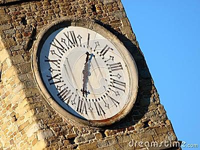 Belltower clocks