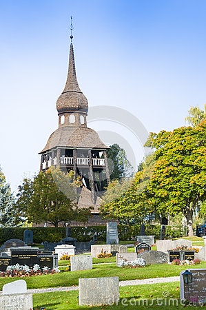 Free Belltower Delsbo Church Stock Photos - 60421063