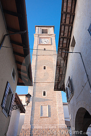 Belltower of the duomo of San Daniele