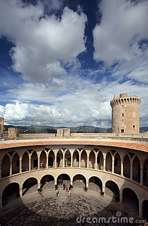 Free Bellver Castle In Majorca Royalty Free Stock Images - 3288649