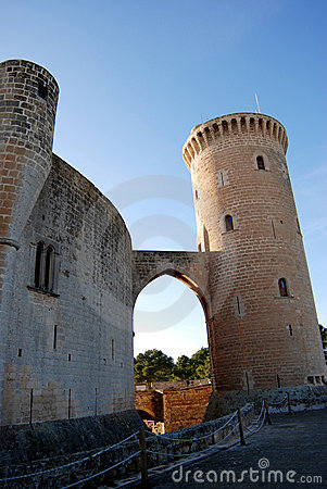 Free Bellver Castle (Majorca) Royalty Free Stock Image - 12624976