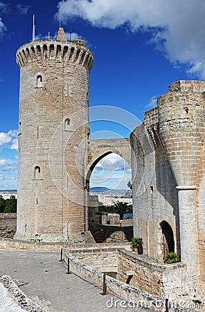 Free Bellver Castle , Palma , Mallorca Royalty Free Stock Photography - 26726917