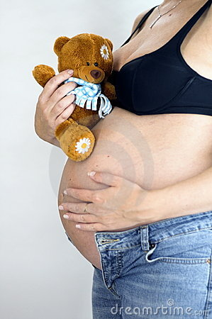 Free Belly And Bear Stock Photography - 1281302