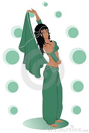 Belly Dance Stock Illustrations – 772 Belly Dance Stock ...