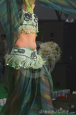 Free Belly Dancer Stock Photography - 9118452