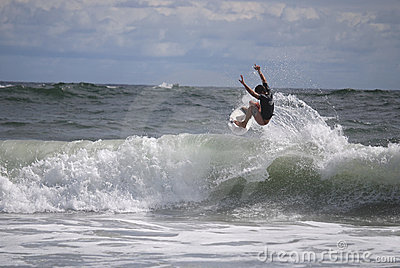 Belmar Surfer Editorial Stock Image