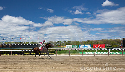 Belmont Park Race Track Editorial Photo