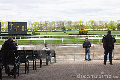 Belmont Park Race Track 2011 Editorial Image