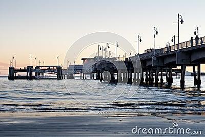 Belmont Shores Pier Long Beach Sunset