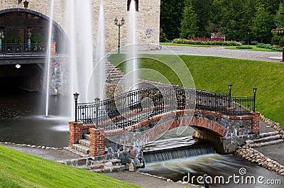 Belmontas park bridge
