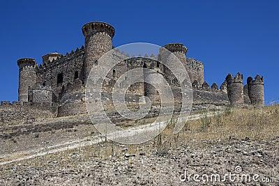 Belmonte Fortress - La Mancha - Spain