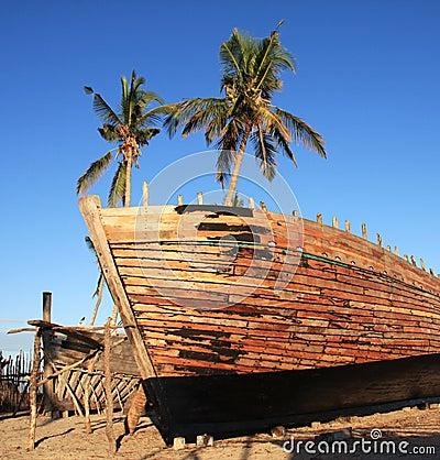 Free Belo Sur Mer Shipyard Royalty Free Stock Images - 32209159