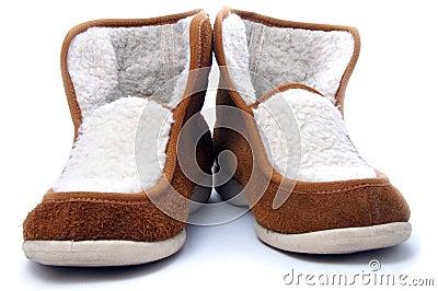 Belorussian heat-insulated winter slippers