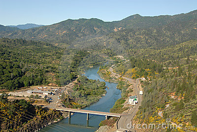 Below Shasta Dam