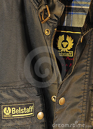 Belstaff brand  Editorial Image