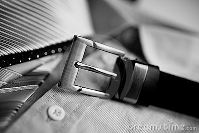 Belt shirt and ties