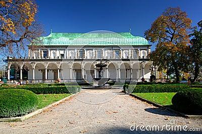 Belvedere Gardens - Prague