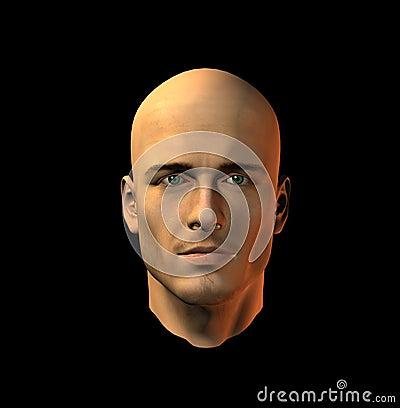 Bemannt Gesicht 10