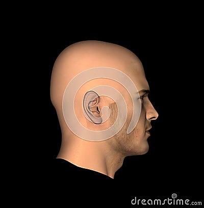 Bemannt Kopf 11