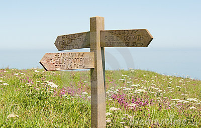 Bempton Cliffs Sign