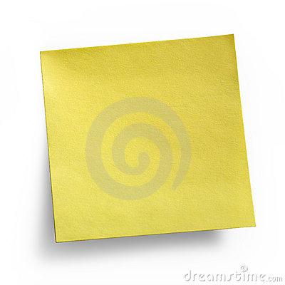 Bemärk klibbig yellow