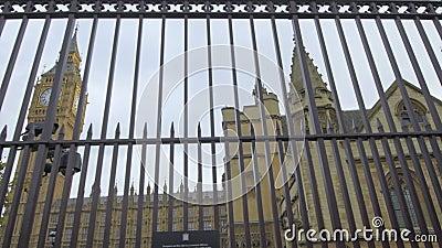ben duży domów parlament zbiory wideo