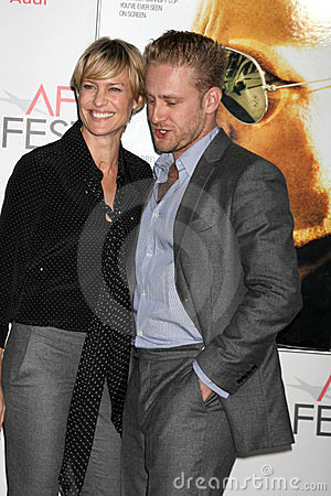 Ben Foster, Robin Wright Editorial Image