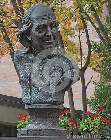 Free Ben Franklin Bust Stock Images - 46152374