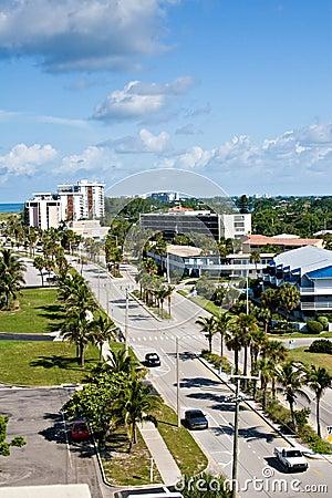 Ben Franklin Drive in Sarasota, Florida