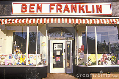Ben Franklin store Editorial Photo