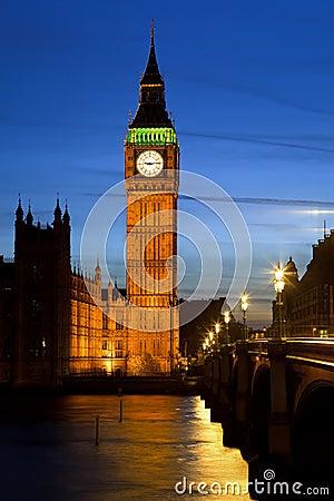 Ben grande en Londres